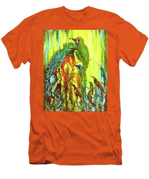 Song Of Costa Rica Men's T-Shirt (Athletic Fit)