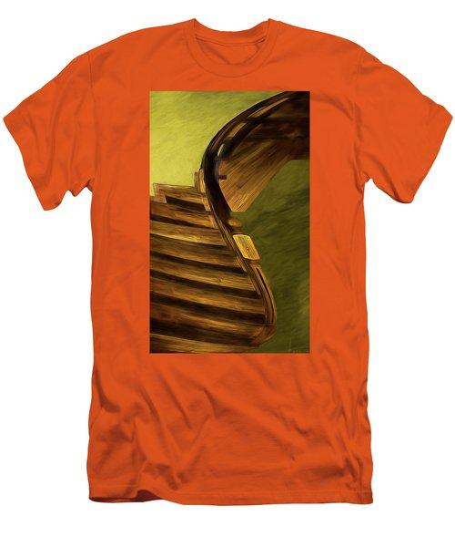 Space Geometry #12 Men's T-Shirt (Slim Fit) by Alex Galkin