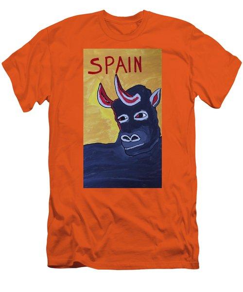 Spain  Men's T-Shirt (Slim Fit) by Don Koester