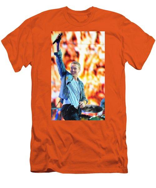 Coldplay4 Men's T-Shirt (Slim Fit) by Rafa Rivas