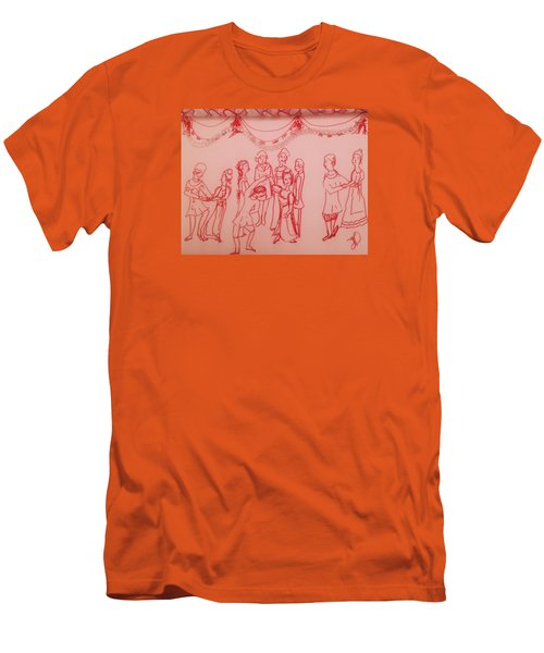Spellbinding Dance Of Joy Men's T-Shirt (Athletic Fit)