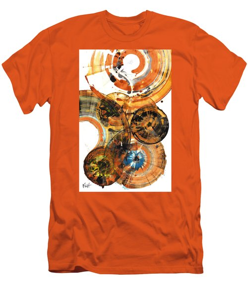 Men's T-Shirt (Athletic Fit) featuring the painting Sphere Series 1024.050312 by Kris Haas