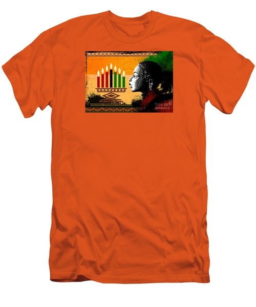 Spirit Of Kwanzaa Men's T-Shirt (Athletic Fit)
