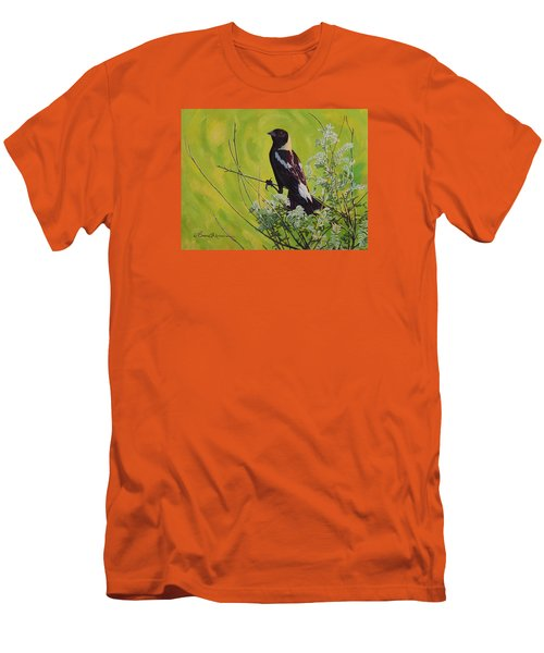 Spring Bobolink Men's T-Shirt (Athletic Fit)