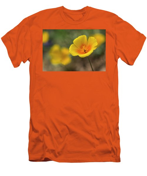 Men's T-Shirt (Slim Fit) featuring the photograph Spring Is Beckoning  by Saija Lehtonen