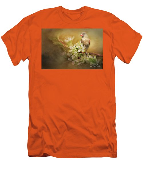 Men's T-Shirt (Slim Fit) featuring the photograph Spring Is In The Air by Linda Blair