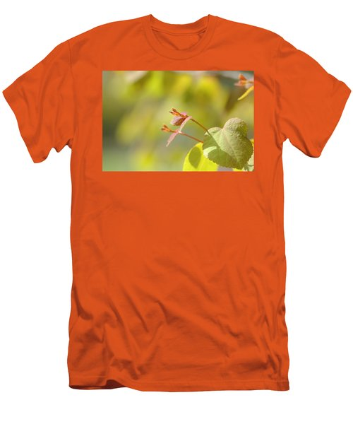 Men's T-Shirt (Slim Fit) featuring the photograph Spring Macro2 by Jeff Burgess