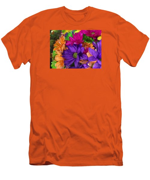 Spring Mums Men's T-Shirt (Athletic Fit)