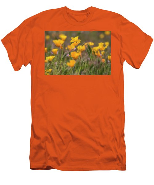 Men's T-Shirt (Slim Fit) featuring the photograph Spring Softly Calling  by Saija Lehtonen