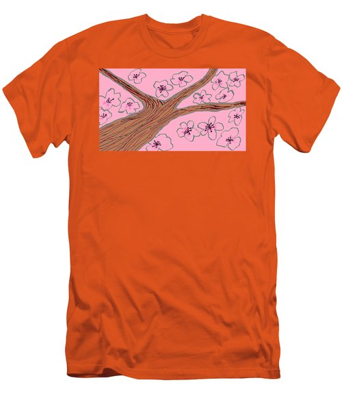 Spring Stained Glass 3 Men's T-Shirt (Athletic Fit)