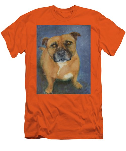 Staffordshire Bull Terrier Men's T-Shirt (Athletic Fit)