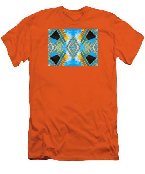 State And Grand Diamond N92 V3  Men's T-Shirt (Slim Fit) by Raymond Kunst