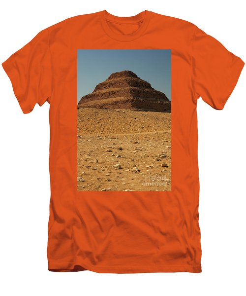 Step Pyramid Men's T-Shirt (Athletic Fit)