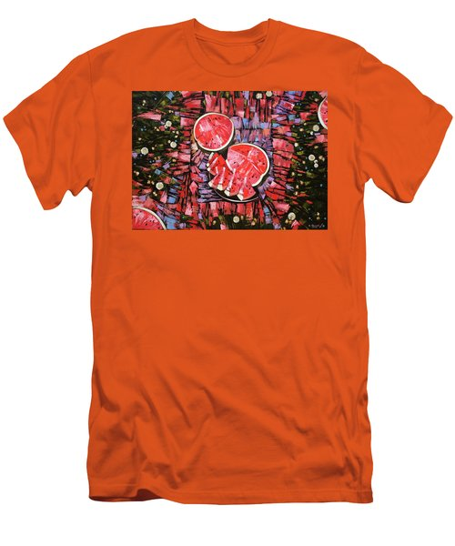 Still Life. The Taste Of Summer. Men's T-Shirt (Athletic Fit)