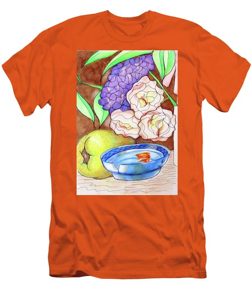 Still Life With Fish Men's T-Shirt (Slim Fit) by Loretta Nash