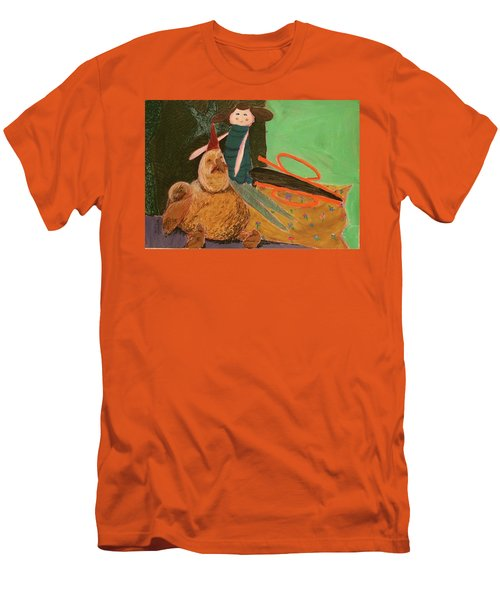 Still Life With Old Toys Men's T-Shirt (Slim Fit) by Manuela Constantin
