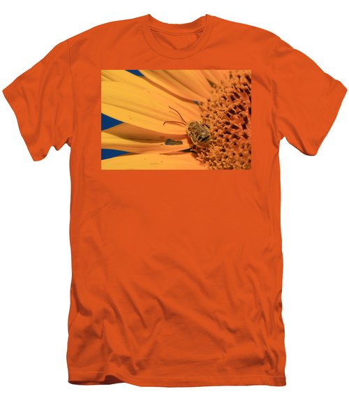 Men's T-Shirt (Slim Fit) featuring the photograph Still Sleeping by Chris Berry