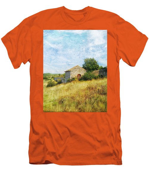 Provence Countryside Men's T-Shirt (Slim Fit) by Catherine Alfidi