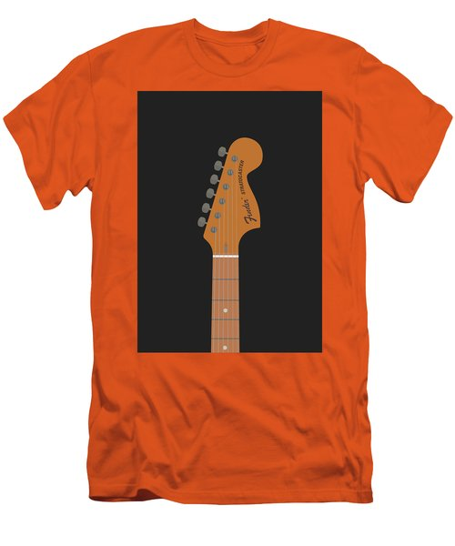 Stratocaster Guitar Men's T-Shirt (Athletic Fit)