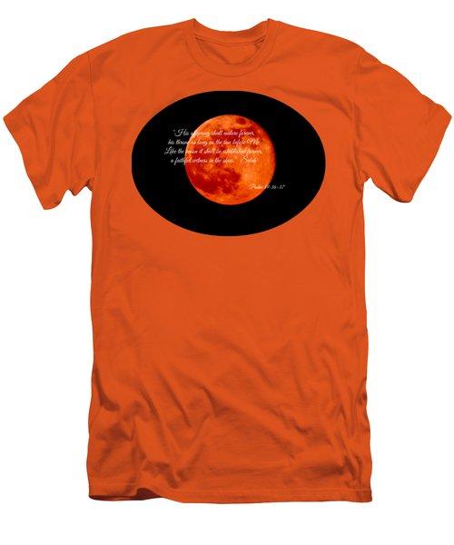 Strawberry Moon Men's T-Shirt (Slim Fit) by Anita Faye