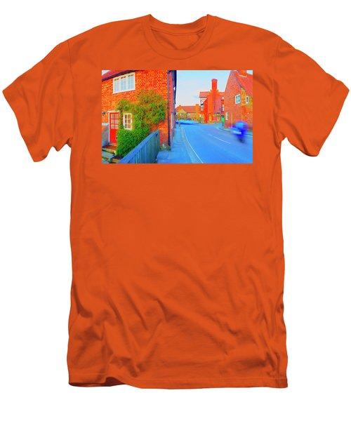 Streaking Beaulieu II Men's T-Shirt (Slim Fit) by Jan W Faul