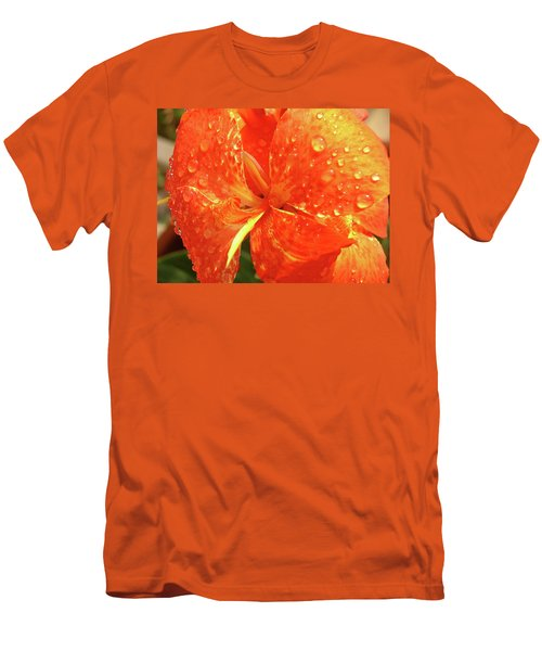 Stunning Canna Lily Men's T-Shirt (Athletic Fit)