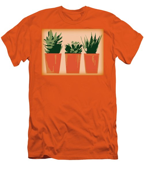 Succulents Men's T-Shirt (Athletic Fit)