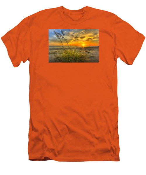 Summer Breezes Men's T-Shirt (Slim Fit) by Marvin Spates