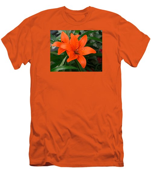 Summer Flower Men's T-Shirt (Athletic Fit)