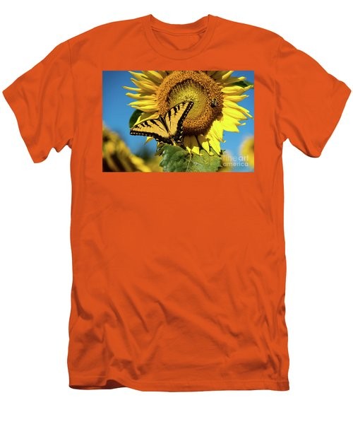 Men's T-Shirt (Slim Fit) featuring the photograph Summer Friends by Sandy Molinaro