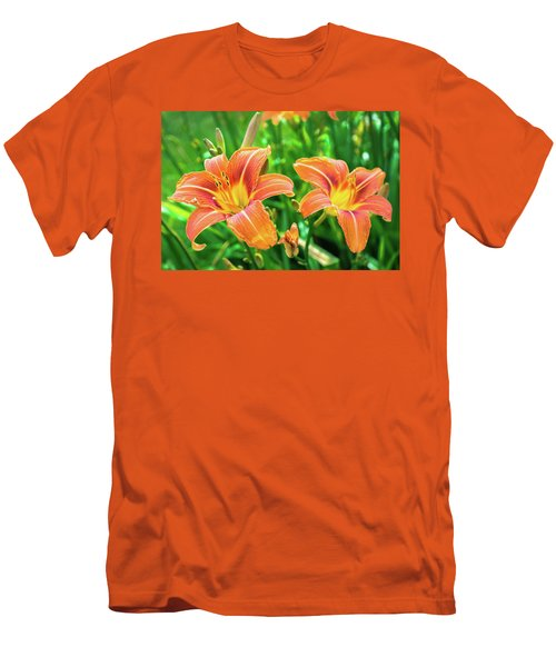 Men's T-Shirt (Athletic Fit) featuring the photograph Summer Jubilation by Bill Pevlor