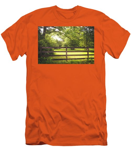 Men's T-Shirt (Slim Fit) featuring the photograph Summertime Sunshine by Shelby Young