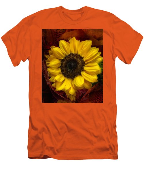 Sun In The Flower Men's T-Shirt (Athletic Fit)