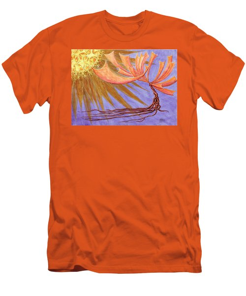 Sundancer Men's T-Shirt (Slim Fit) by Charles Cater