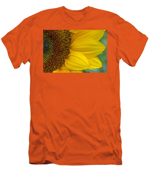 Sunflower Closeup Men's T-Shirt (Athletic Fit)