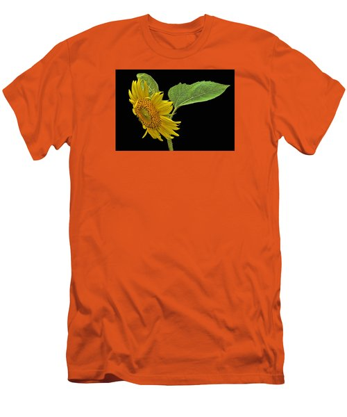 Men's T-Shirt (Slim Fit) featuring the photograph Sunflower by Don Durfee