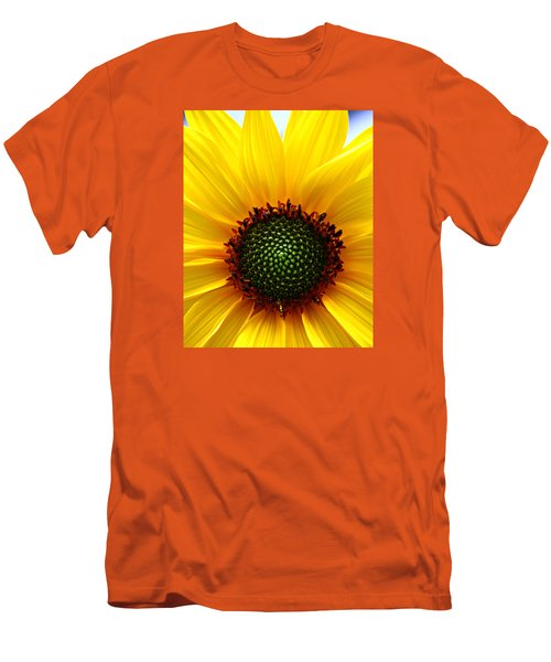 Sunflower Macro Men's T-Shirt (Athletic Fit)