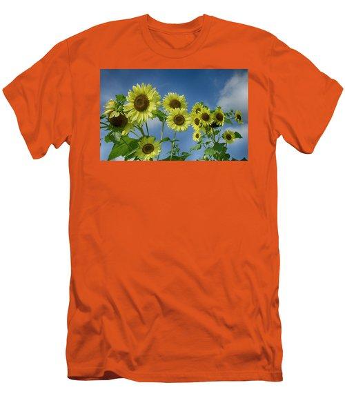 Sunflower Party Men's T-Shirt (Athletic Fit)