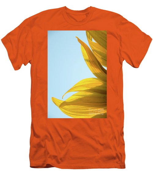 Men's T-Shirt (Athletic Fit) featuring the photograph Sunflowers 11 by Andrea Anderegg