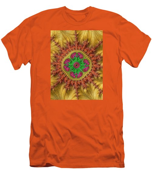 Men's T-Shirt (Slim Fit) featuring the photograph Sungold by Ronda Broatch