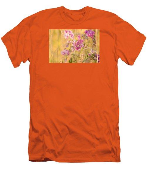 Sunny Garden 3 Men's T-Shirt (Slim Fit) by Bonnie Bruno