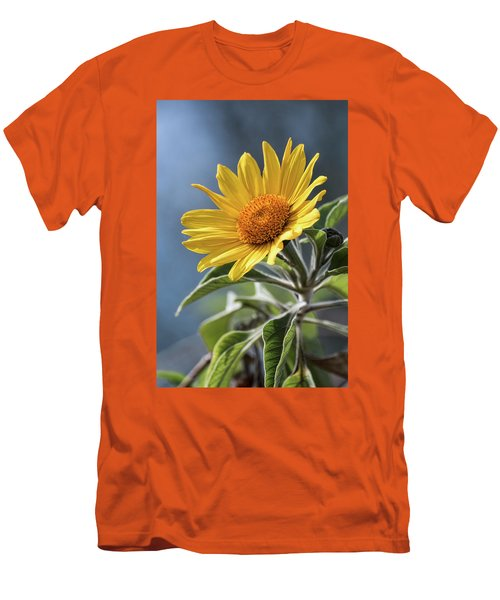 Men's T-Shirt (Slim Fit) featuring the photograph Sunny Side Up  by Saija Lehtonen