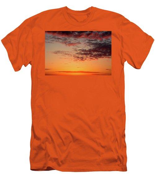Sunrise At Treasure Island Men's T-Shirt (Slim Fit)