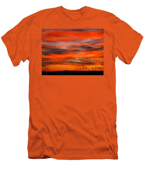 Sunrise In Ithaca Men's T-Shirt (Athletic Fit)