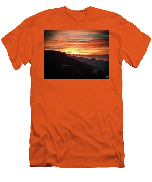 Sunrise Over Santa Rosa Beach Men's T-Shirt (Athletic Fit)