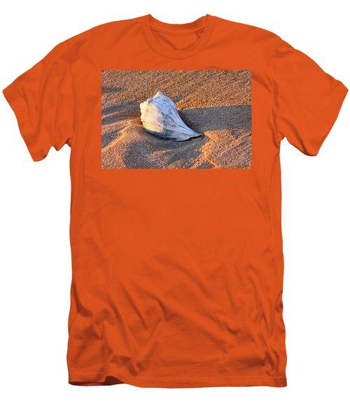 Sunrise Seashell Men's T-Shirt (Slim Fit) by Allan Levin