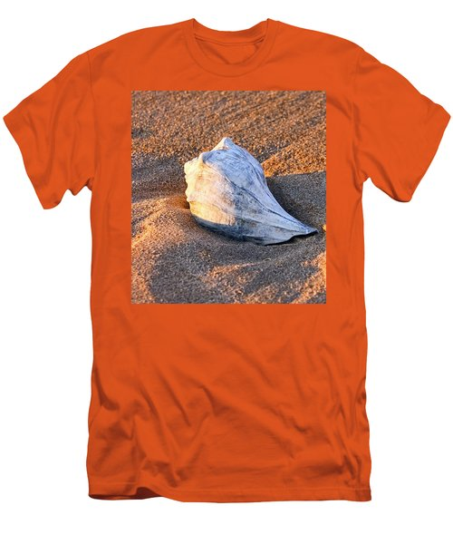 Sunrise Seashell Men's T-Shirt (Athletic Fit)
