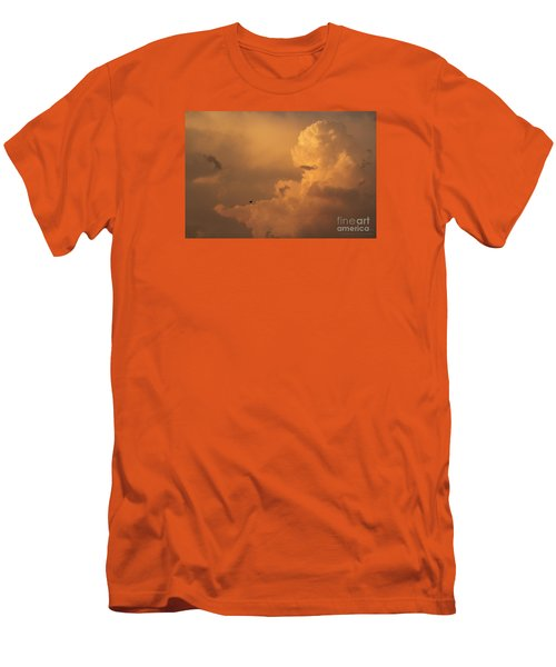 Sunset Clouds 01 Men's T-Shirt (Athletic Fit)