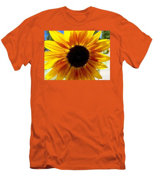 Sunshine Sunflower Men's T-Shirt (Athletic Fit)
