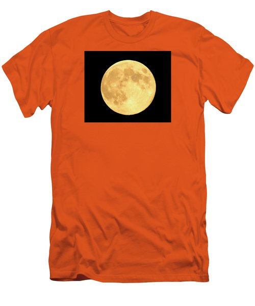 Supermoon Full Moon Men's T-Shirt (Slim Fit) by Kyle West